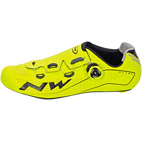 Northwave Flash Shoes Men yellow fluo/black